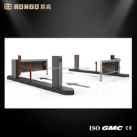 Hot sales fence arm road barrier/car blocker with remote control