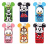 6 types cut grafitti micke minnie mouse donald daisy duck goofy max chip dale phone case with big ears for iphone 5 5s