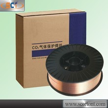 Free sample!AWS 5.18 ER70S-6 0.6mm 0.8mm/0.9mm/1.0mm/1.2mm Co2 Gas-Shielded co2 gas shielding weld wire