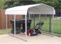 metal car shed design/steel structure car shed