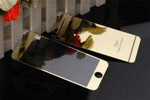 Factory supply High Quality 0.2mm Tempered Glass films Colorful anti glare screen protectors for iphone 5