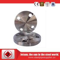 Class 600 A105 carbon steel ANSI blind flange