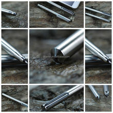 Variety Design Timely Delivered Cool Looking Pens Kickstarter Titanium Pen Key Ring Pen
