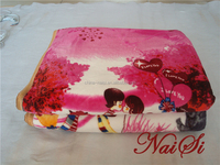 Lovers Kiss Flannel Electric Blanket Controller