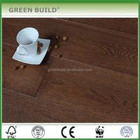 Coffee slicing cutting oak multi-layer engineered wood flooring