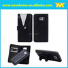 2015 newest detachable card slots wallet stand leather case for samsung galaxys6