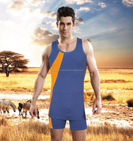 Zhejiang manufacture 100% cotton sports type custom stringer tank top with EXW price