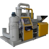 High efficiency used copper wire granulator and separator copper scrap wire/cable recycling machine