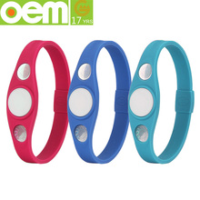 fashionable silicone wrist band for sport