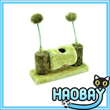 Top sell European style cat play hole with ball cat scratcher paradise cat product