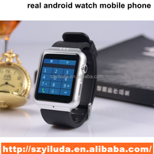 Stainless Steel Body Watch Mobile Phone