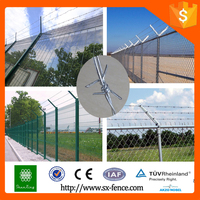 Factory price fence galvanized PVC coated barbed wire
