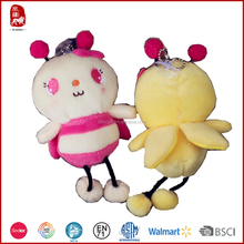 Customize cute bee plush stuffed toys 2015 China suppllier for kids