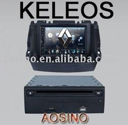 2din car dvd for Renault Koleos built in TV