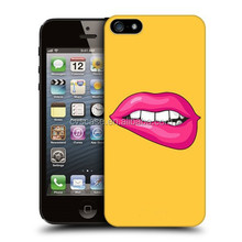 Sexy lip design girls cell phone case for iphone 5 case