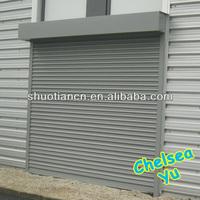 Remote control aluminum vertical roller shutter door