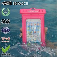wholesale 2015 for iphone waterproof bag/pvc water proof phone bag/pvc waterproof case for phone