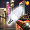 Custom CE ROHS Aluminum Energy Saving Bulb Lights e14 led candle bulb 7w