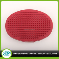 Customized rubber massage product for dog