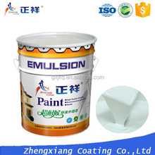 China factory gold emulsion paint external wall