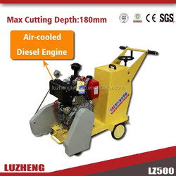 LZ-500G Diesel concrete cutter for pavement cutter