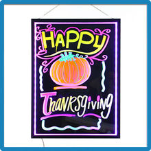 Thanksgiving Day advertising products led illuminated advertising board