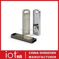 Cheap Custom Logo Wholesale Mini Iron Metallic USB Memory Stick