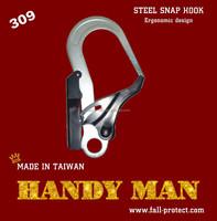 309 Double Action Stamped Steel Ergonomics Design Snap Hook