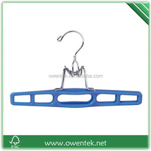 PVC coated chromed trouser/pant hanger