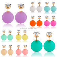New Style Women Fashion Jewelry Earrings Zircon Ear Stud Party