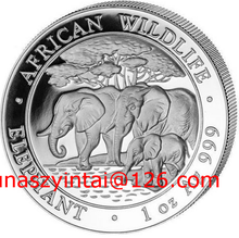 Lingote de plata acuñación de plata de la moneda conmemorativa
