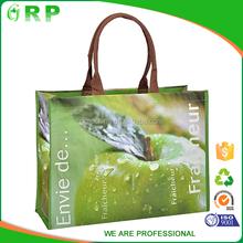 Eco friendly design pp woven wholesale supermarket shopping bag