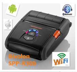 bixolon 80mm mobile bluetooth portable wireless thermal receipt printer SPP-R300 for ipad