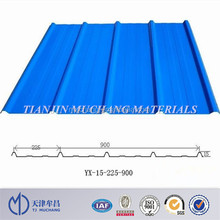 versatile corrugated metal roofing sheet with colors dx51d