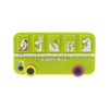 Happy Animal Bus Silicone Protective Case for iPhone 4s 4