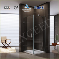 Square frameless shower cabin/door/room EX-302