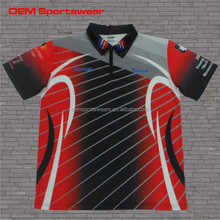 Latest design motorcycle racing team jersey wear