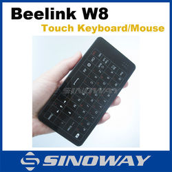 Mini smart air mouse and smart air keyboard for Win8 mini pc tv box Win PC Touch mouse Touch keyboad Beelink W8