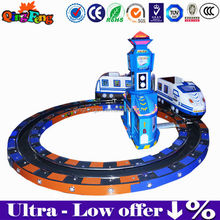 Qingfeng hot sale christmas train ride for children kiddy ride coin operated