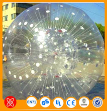 Adult Fun Clear/Transparent Inflatable Bowling Zorbing Ball