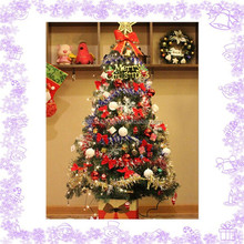 DIY 1.5m house Artificial Christmas tree decorations