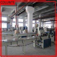 Automatic vacuum cooked food packing machine