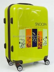 new cartoon print luggage 2014 Alibaba Hot cute kids luggage cartoon print luggage