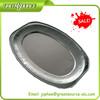 Disposable aluminum foil plate
