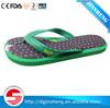 Anti-slip and sweatproof printed fabric PU gel flat foot insoles
