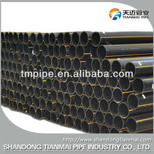 Low Flow Resistance HDPE Natural Gas Transfer Pipes with Long Life Expectancy for Over 5 Decades