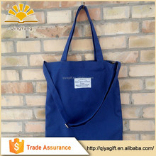 2015 wholesale canvas variety color unique recyclable tote shopping bag with logo