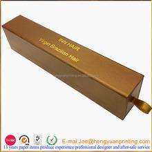 2015 packaging for weave hair packaging, virgin hair packaging box CHF014