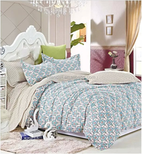 100%Cotton pigment Printed Bed Sheet set duvet cover luxury bedding set