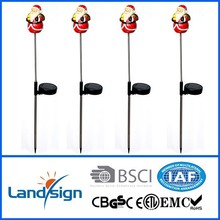 solar light factory with BSCI and ISO9001 certified holiday creations led christmas lights